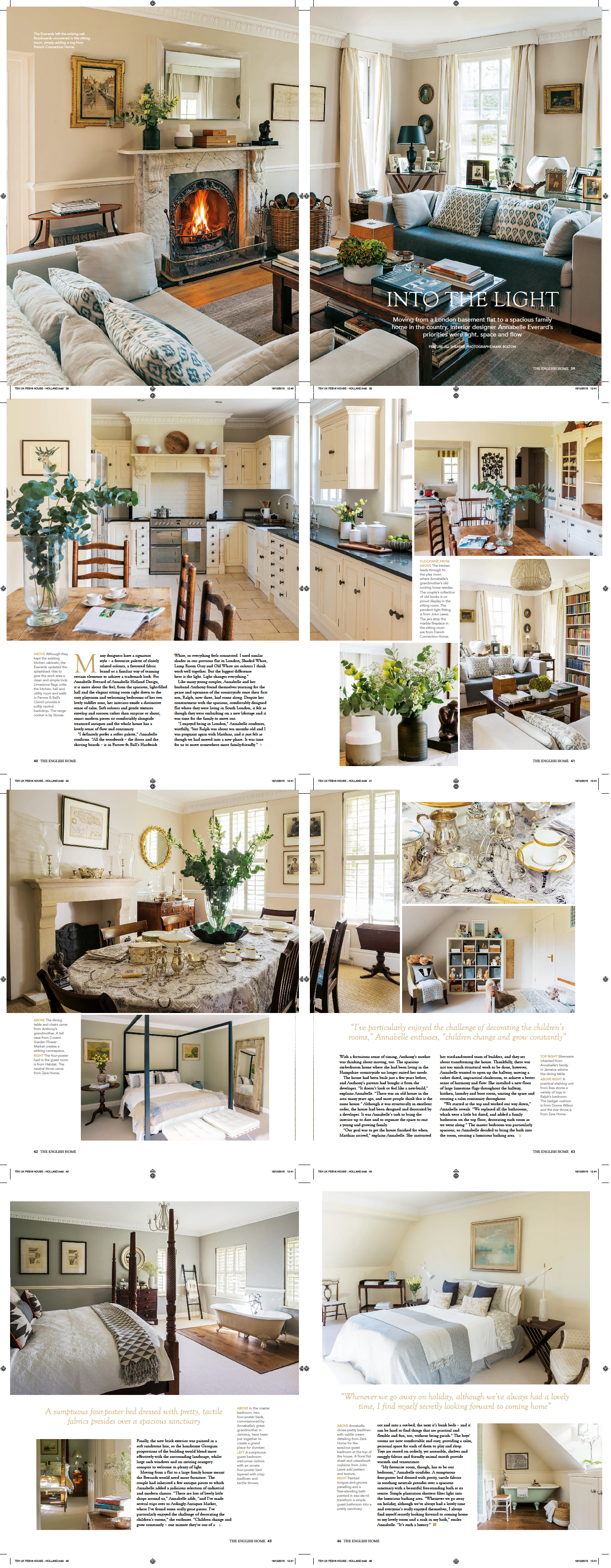 The English Home Feature